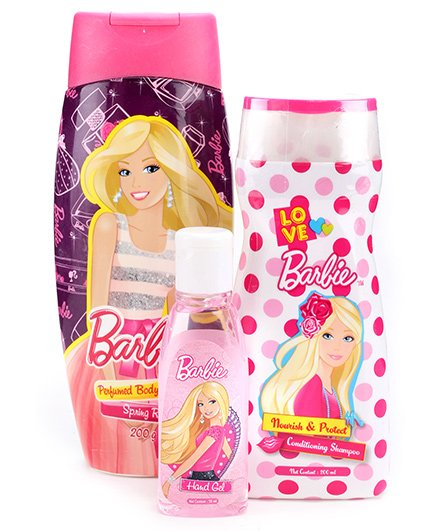 Barbie Dollicious Skin And Hair Care Gift Pack - Set Of 3