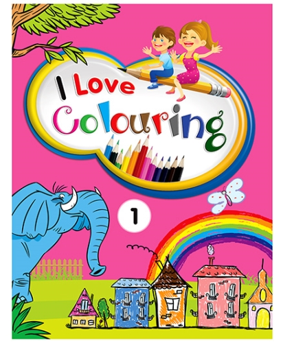 Future Books I Love Colouring 1 - English