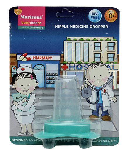 Morison Baby Dreams Medicine Dropper Green