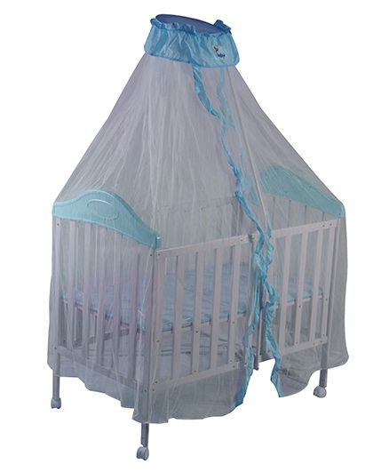 Sunbaby Collapsible Bed Blue
