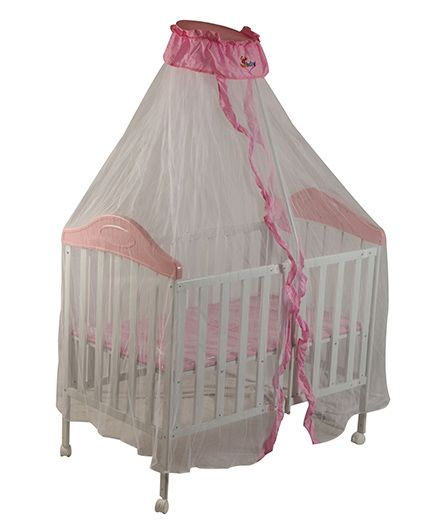 Sunbaby Collapsible Bed Pink