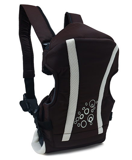 Fab N Funky Baby Carrier Kangaroo Style Brown - Upto 12 kg