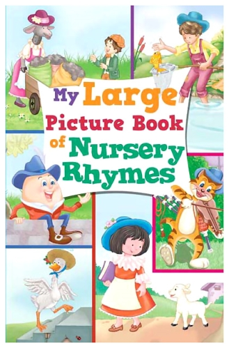 Sterling My Large Picture Book Of Nursery Rhymes - English