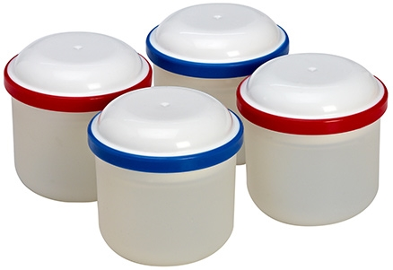 Dr Browns Food Storage Pods Pack Of 4 - Holds upto 3 Ounces Of Baby Food