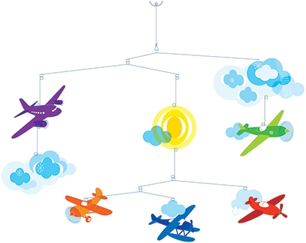 Djeco Flight Mobile
