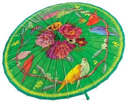 Djeco The Flight Of The Peonies - Bamboo Umbrella