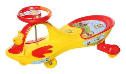 Toyzone Magic Car - Yellow & Red