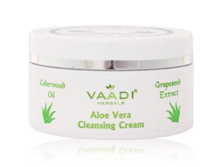 Vaadi Herbals  Aloe Vera Cleansing Cream