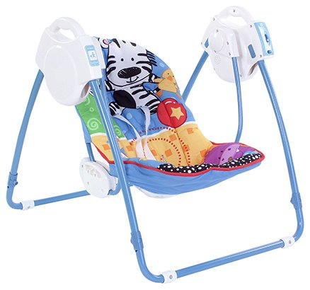 Fisher Price Adorable Animals Open Top Take Along Swing - Upto 11 Kg