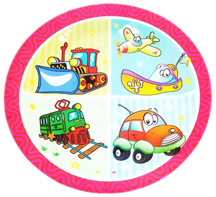 Party Anthem Fun On Wheels Paper Plates - Pack Of 12