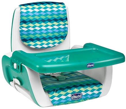 Chicco Booster Seat With 3 Height Positions Mode Mars - Green And White