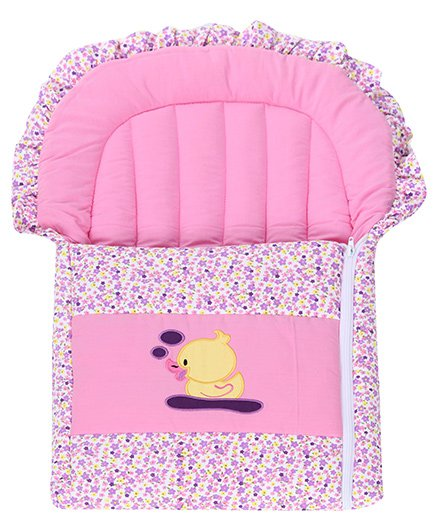 Advance Baby Duck Patch Carry Nest - Pink