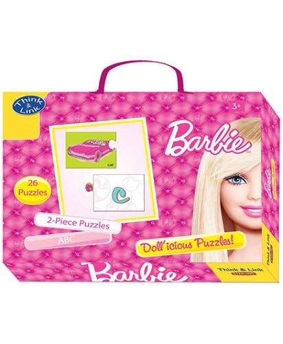 Barbie Think & Link ABC Dollicious puzzles
