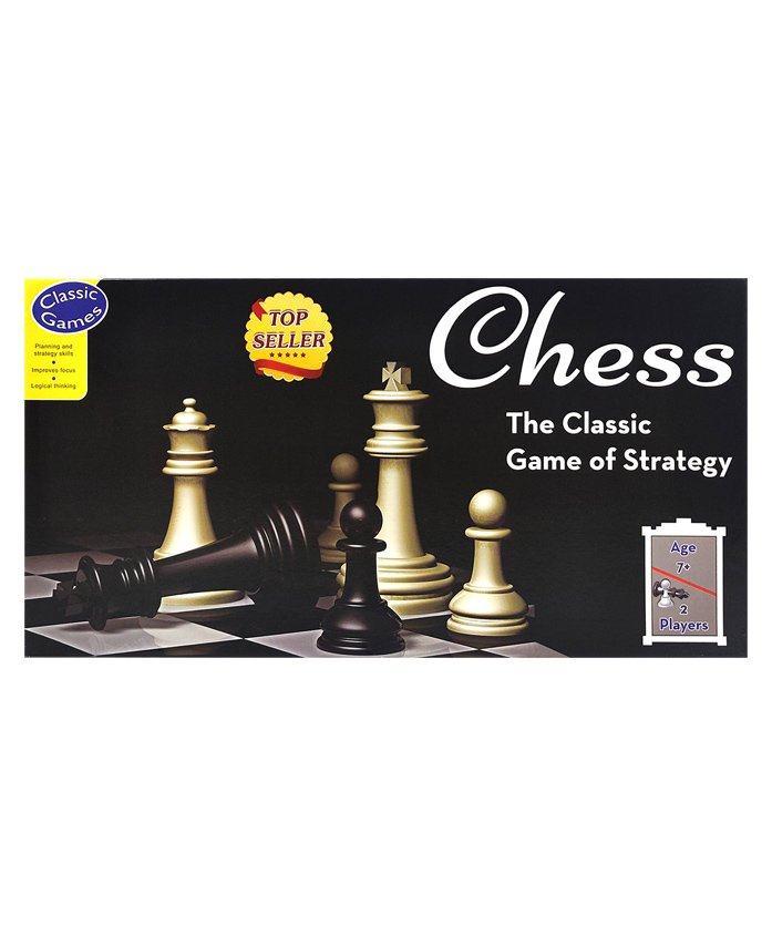 Sterling Chess - Game Board And 32 Chess Pieces