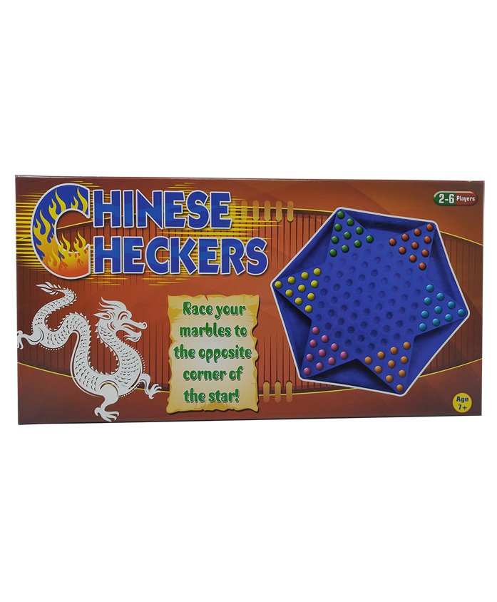Sterling Chinese Checkers - Game Board And 60 Marbles