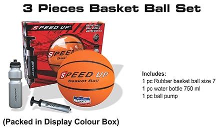 Speed Up 3 Piece Basket Ball Set