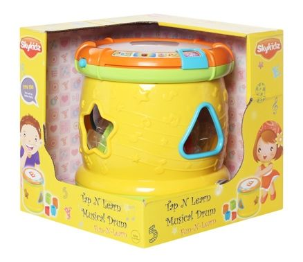Mitashi Skykids Tap N Learn Musical Drum