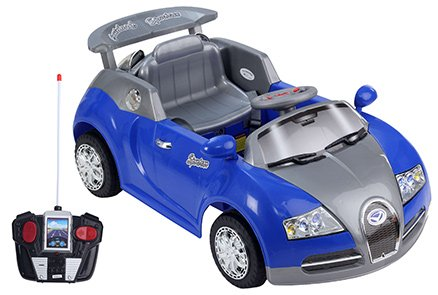 Fab N Funky Class RC Ride On Car - Blue