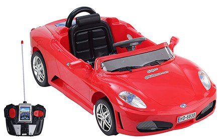 Fab N Funky Super Childern Car RC Ride On