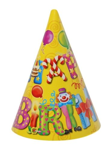 Archies Party Time Hat - Happy Birthday