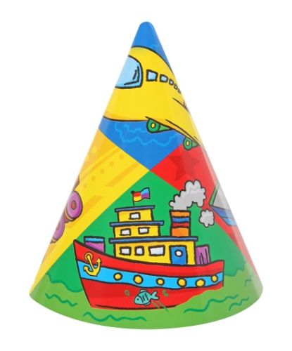 Archies Party Time Hat - Plane & Ship