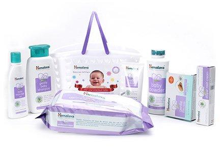Himalaya Baby Basket Gift Pack Basket