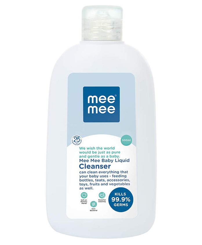 Mee Mee Vegetable Liquid Cleanser, 500 ml