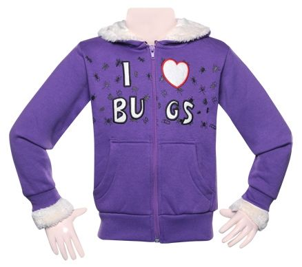 Sweat Shirt - I Love Bugs