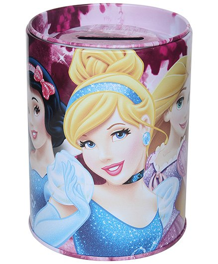 Disney Princess Coin Bank - Pink