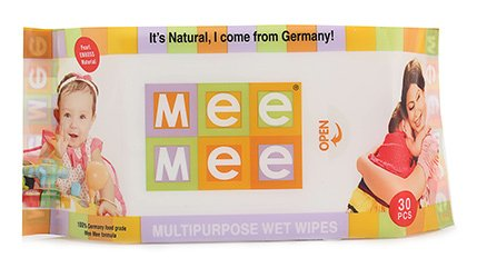 Mee Mee Baby Wipes 30 Pcs