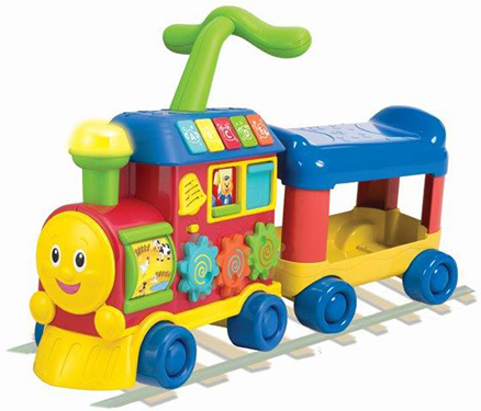 Winfun Walker Ride On Learning Train