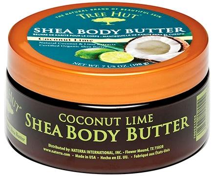 Tree Hut Shea Body Butter Coconut Lime - 198 g