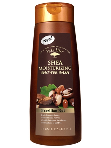 Tree Hut Shea Moisturizing Shower Wash Brazilian Nut - 473 ml