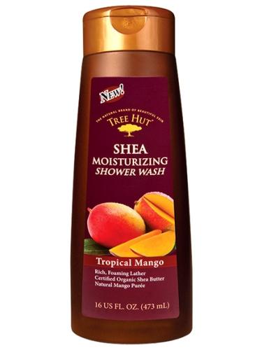 Tree Hut Shea Moisturizing Shower Wash Tropical Mango - 473 ml
