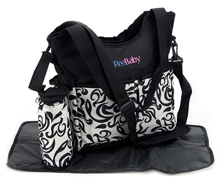 Buy ReeBaby Diaper Bag Black - Best online prices and reviews from