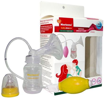 Morison Baby Dreams Manual Breast Pump Classic - Yellow