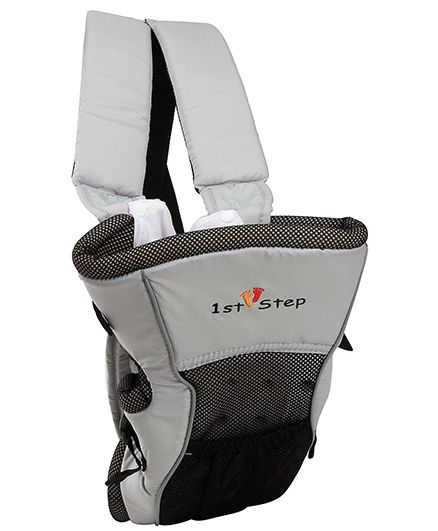 1st Step Baby Carrier 2 Way - Grey
