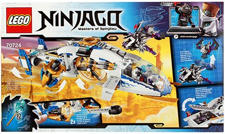 Lego Ninjago Copter