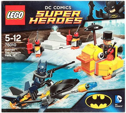 Lego Batman The Penguin Face off