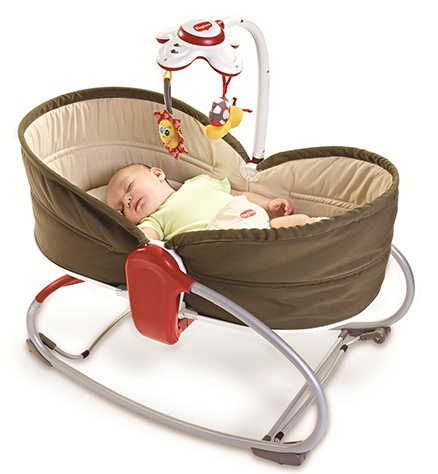 Tiny Love 3 - in - 1 Rocker Napper - Brown