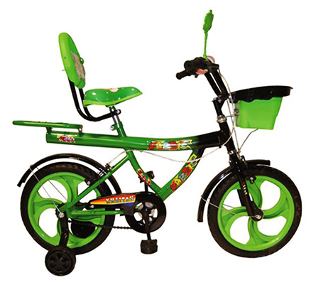Khaitan Chopper Bicycle Green - 16 Inch
