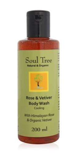 Soul Tree Rose & Vetiver Body Wash