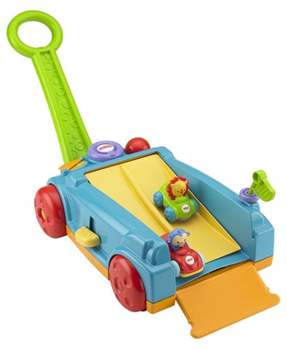 Fisher-Price Rock n Roll Wagon - Blue and Green