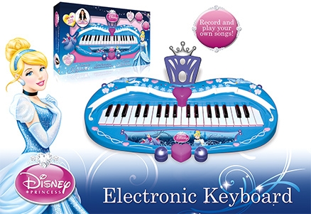 Disney Princess Electronic Keyboard Cinderella
