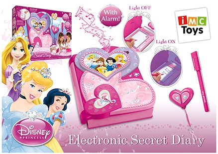 Disney Princess Electronics Diary