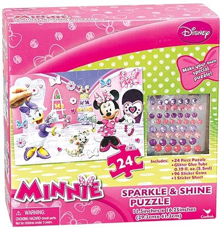 Disney Minnie Sparkle And Shine Puzzle- 24 Pieces