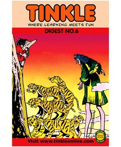 Tinkle Digest No. 6