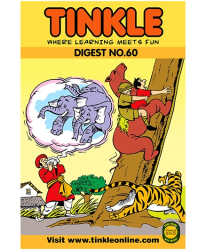 Tinkle Digest No 60 - English