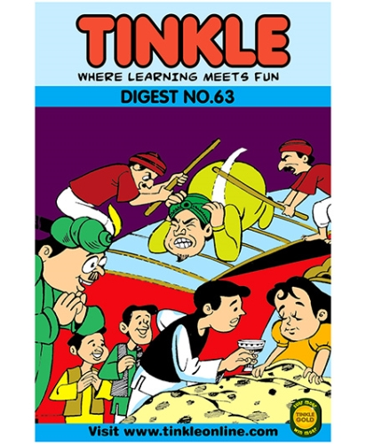 Tinkle Digest No 63 - English