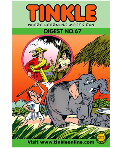 Tinkle Digest No 67 - English